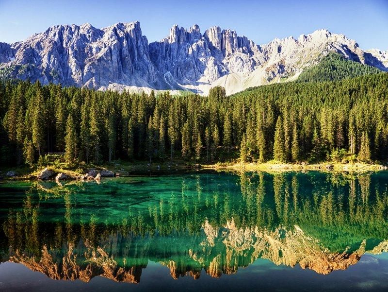 Alla ricerca dei pi bei laghi del trentino alto adige for Disegni di laghi