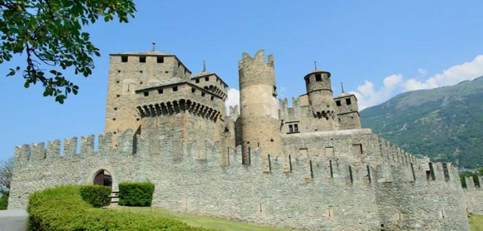 I più bei Castelli della Valle d'Aosta