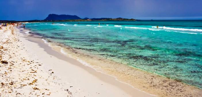 Sardegna, spiaggia de la Cinta