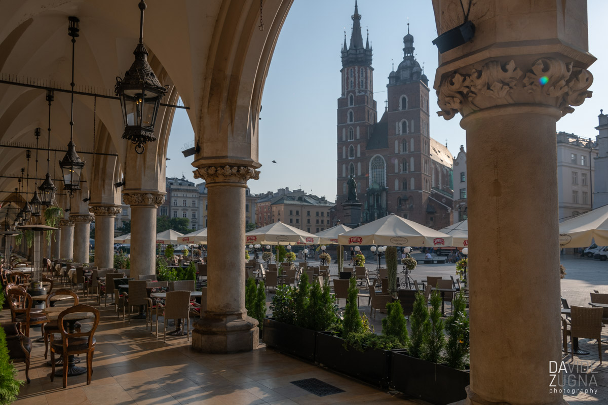 Cracovia, in Polonia